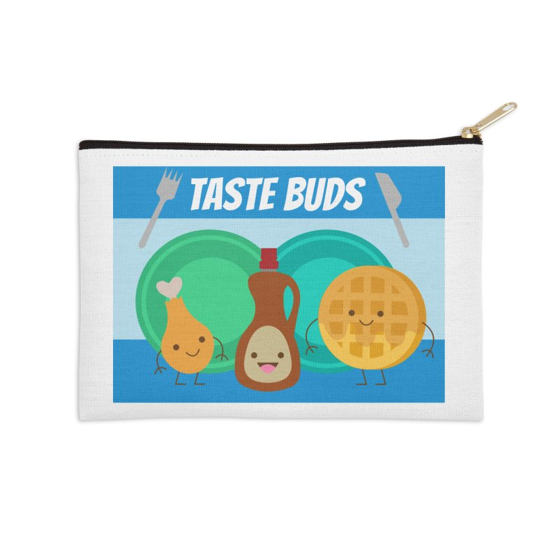 Taste Buds Accessories Zip Pouch by Angela Tarantula