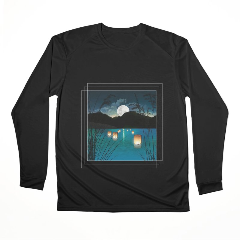 Make A Wish Men's Performance Longsleeve T-Shirt by Angela Tarantula