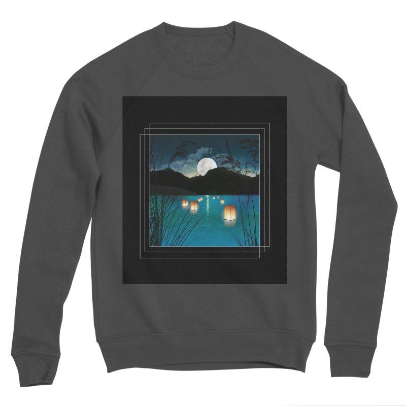 Make A Wish Men's Sponge Fleece Sweatshirt by Angela Tarantula
