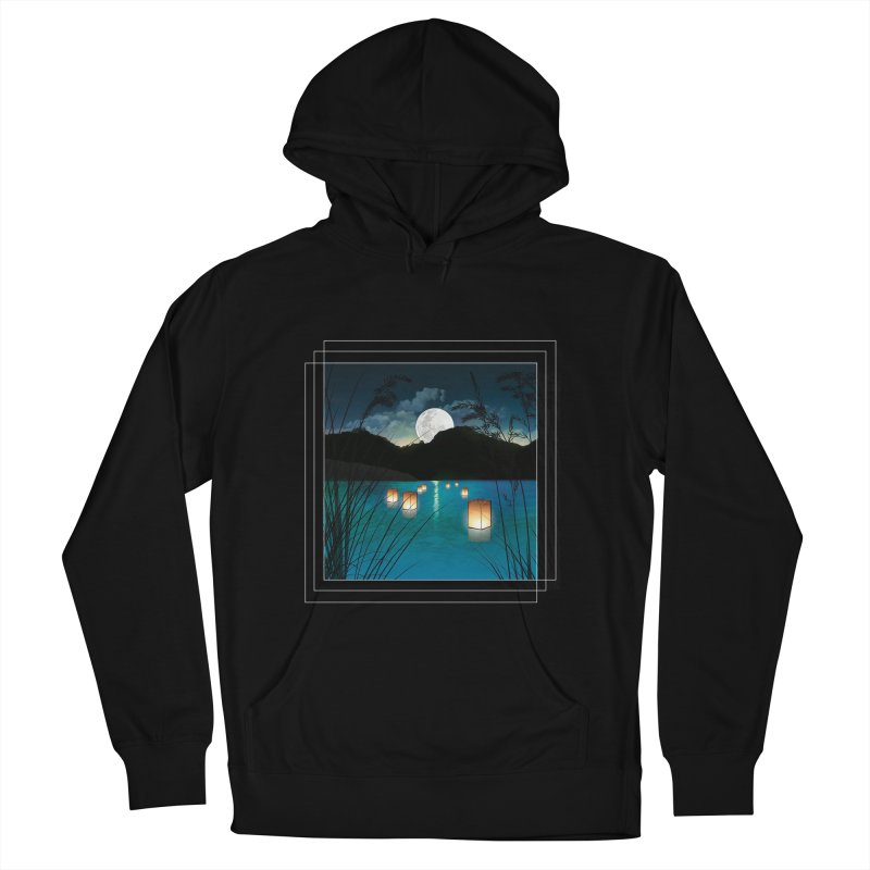 Make A Wish Men's French Terry Pullover Hoody by Angela Tarantula