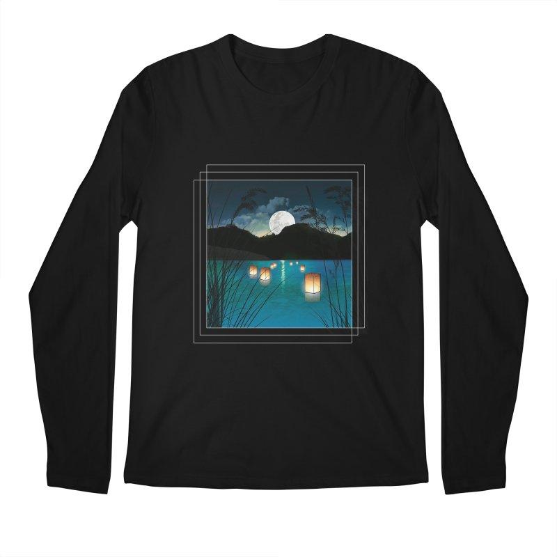 Make A Wish Men's Regular Longsleeve T-Shirt by Angela Tarantula
