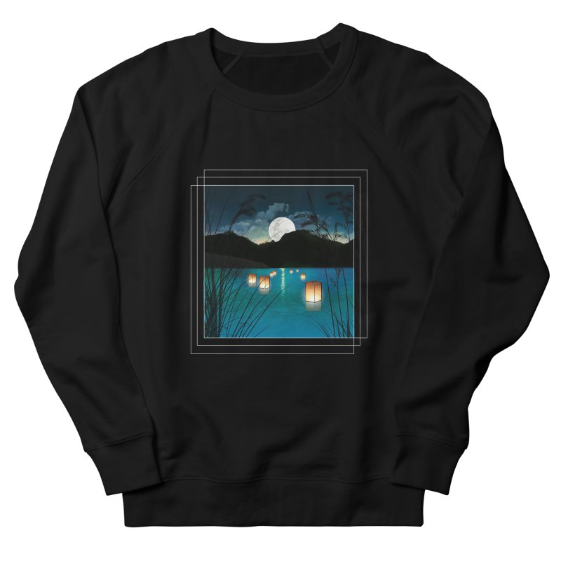 Make A Wish Men's French Terry Sweatshirt by Angela Tarantula