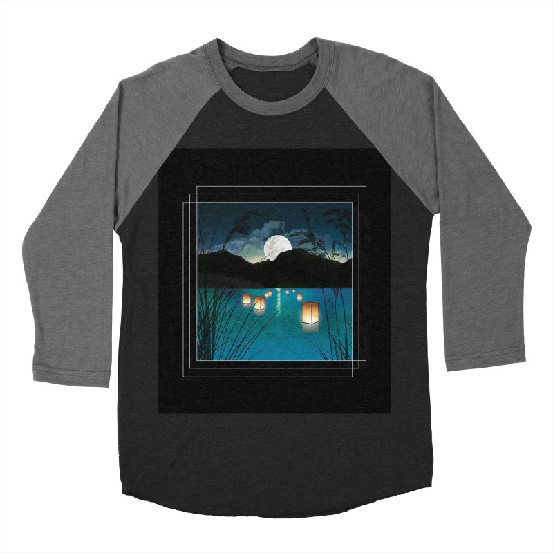 Make A Wish Men's Baseball Triblend Longsleeve T-Shirt by Angela Tarantula
