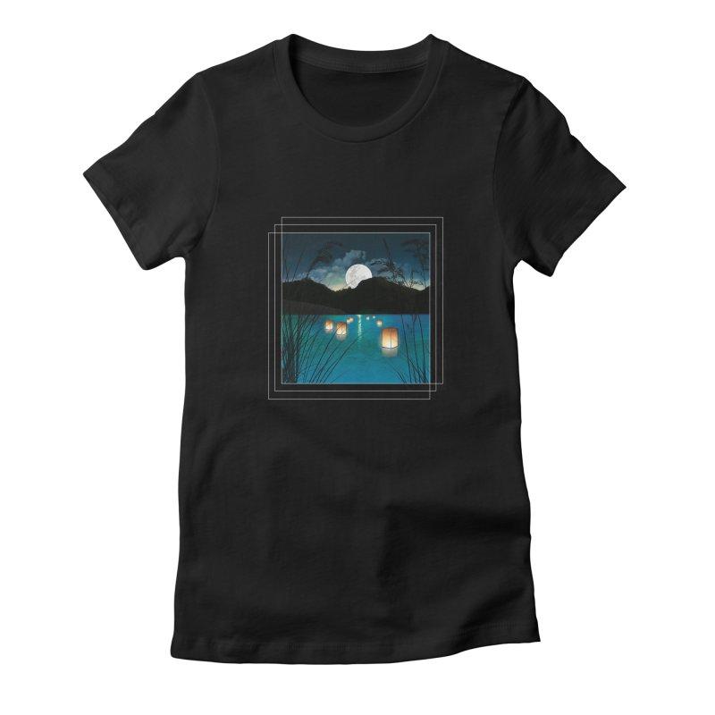 Make A Wish Women's Fitted T-Shirt by Angela Tarantula