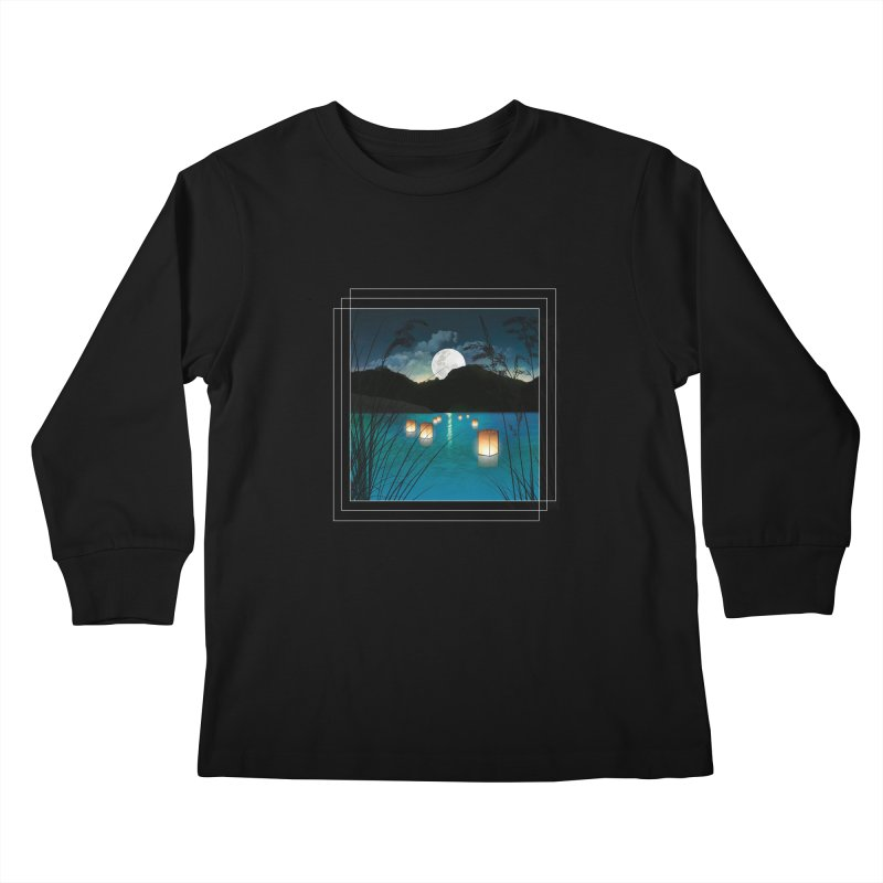 Make A Wish Kids Longsleeve T-Shirt by Angela Tarantula