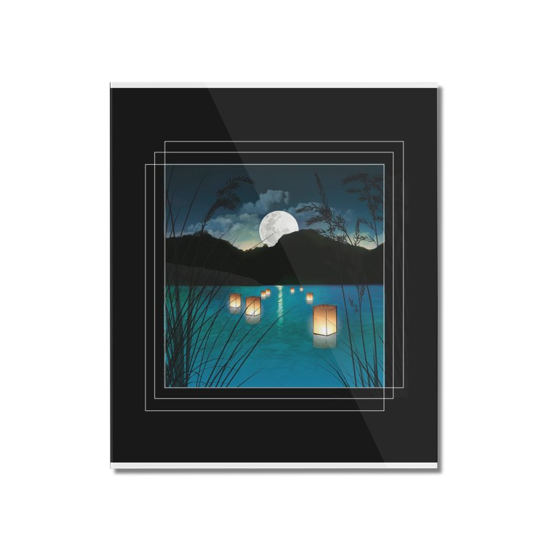 Make A Wish Home Mounted Acrylic Print by Angela Tarantula
