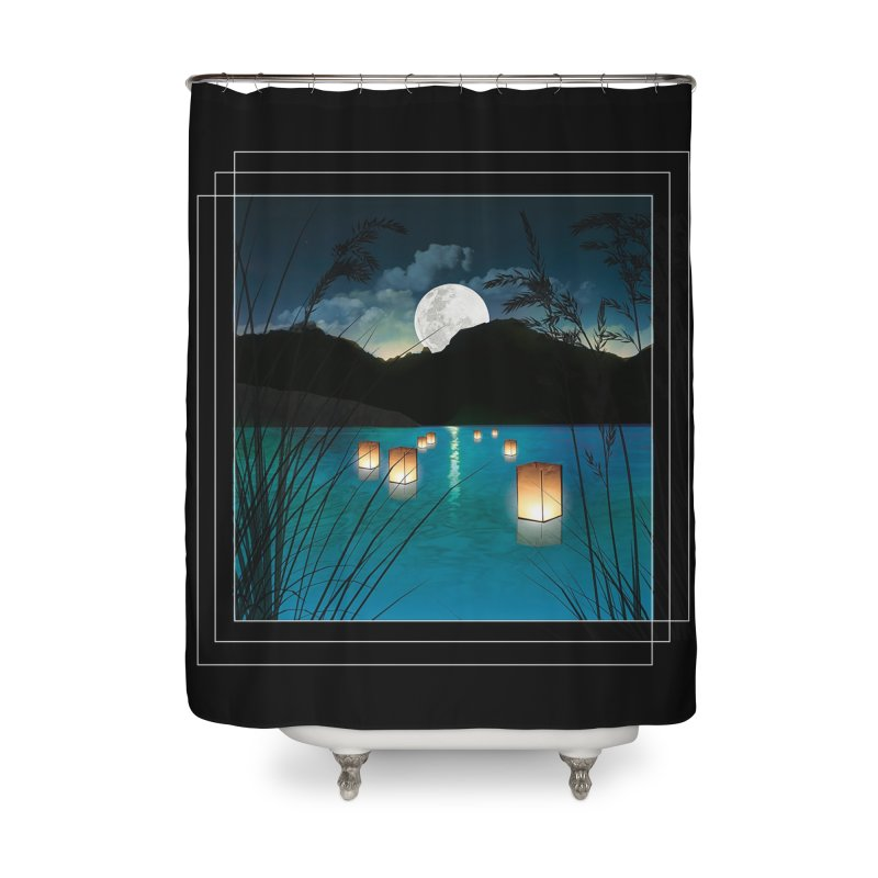 Make A Wish Home Shower Curtain by Angela Tarantula