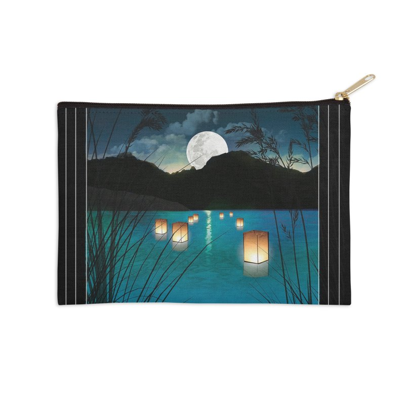 Make A Wish Accessories Zip Pouch by Angela Tarantula