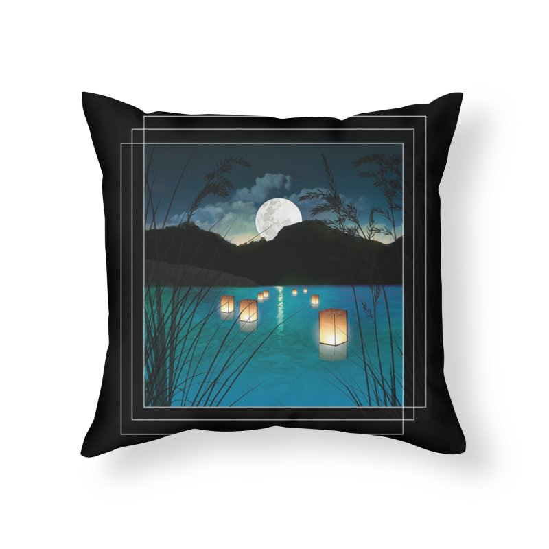 Make A Wish Home Throw Pillow by Angela Tarantula