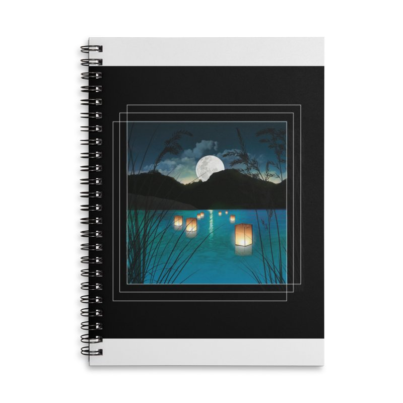 Make A Wish Accessories Lined Spiral Notebook by Angela Tarantula