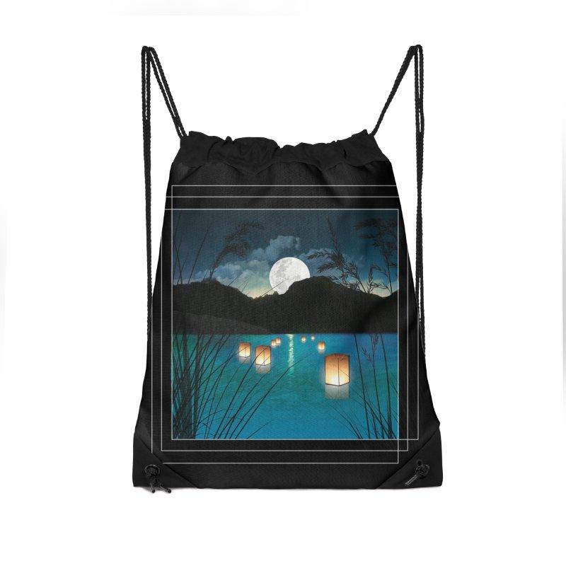 Make A Wish Accessories Drawstring Bag Bag by Angela Tarantula