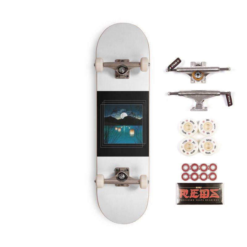 Make A Wish Accessories Complete - Pro Skateboard by Angela Tarantula