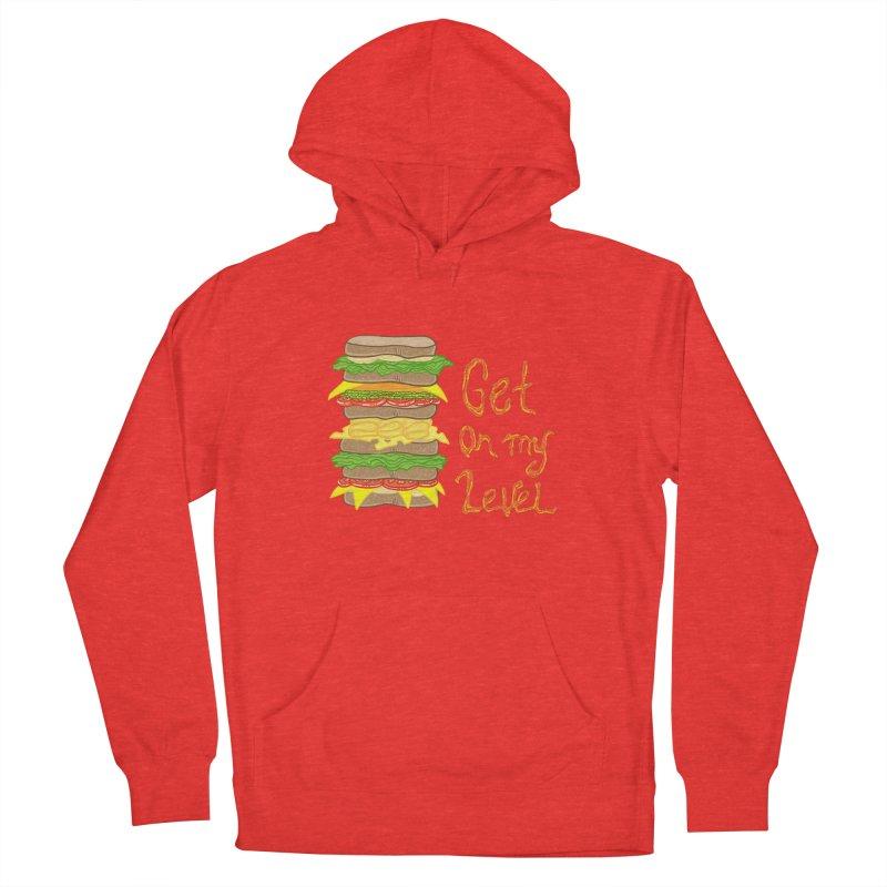 Get on My Level Men's Pullover Hoody by Angela Tarantula