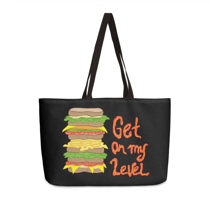 Get on My Level Accessories Bag by Angela Tarantula