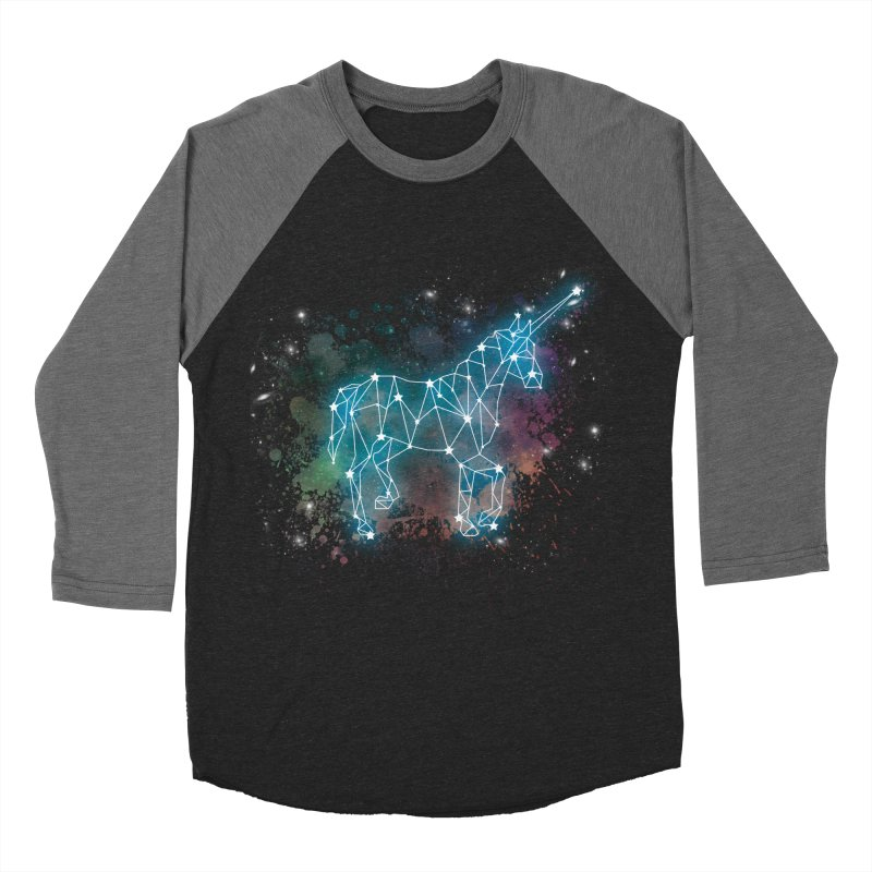 Monoceros  Women's Baseball Triblend Longsleeve T-Shirt by Angela Tarantula