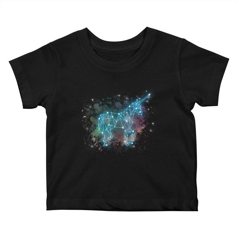 Monoceros  Kids Baby T-Shirt by Angela Tarantula
