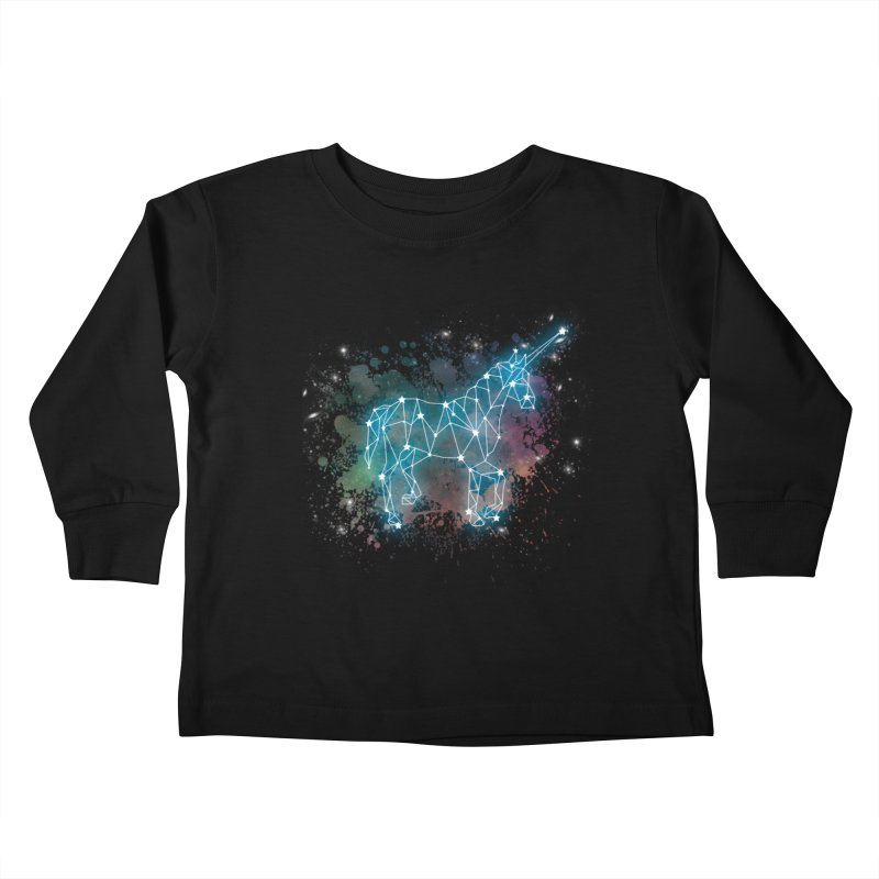 Monoceros  Kids Toddler Longsleeve T-Shirt by Angela Tarantula