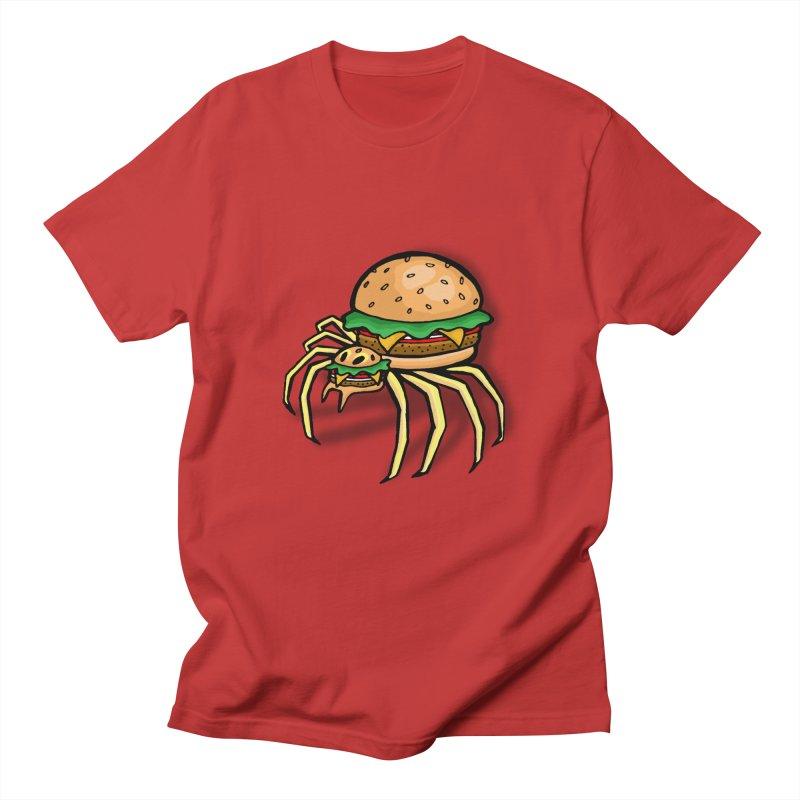 Cheeseburger Spider Women's Regular Unisex T-Shirt by Angela Tarantula