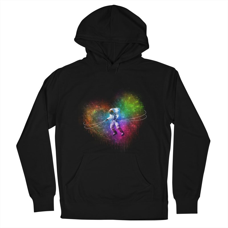 Cosmic Wrangler Men's French Terry Pullover Hoody by Angela Tarantula