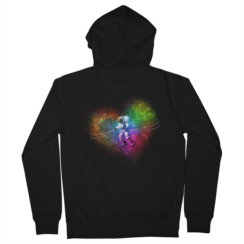 Cosmic Wrangler Women's Zip-Up Hoody by Angela Tarantula