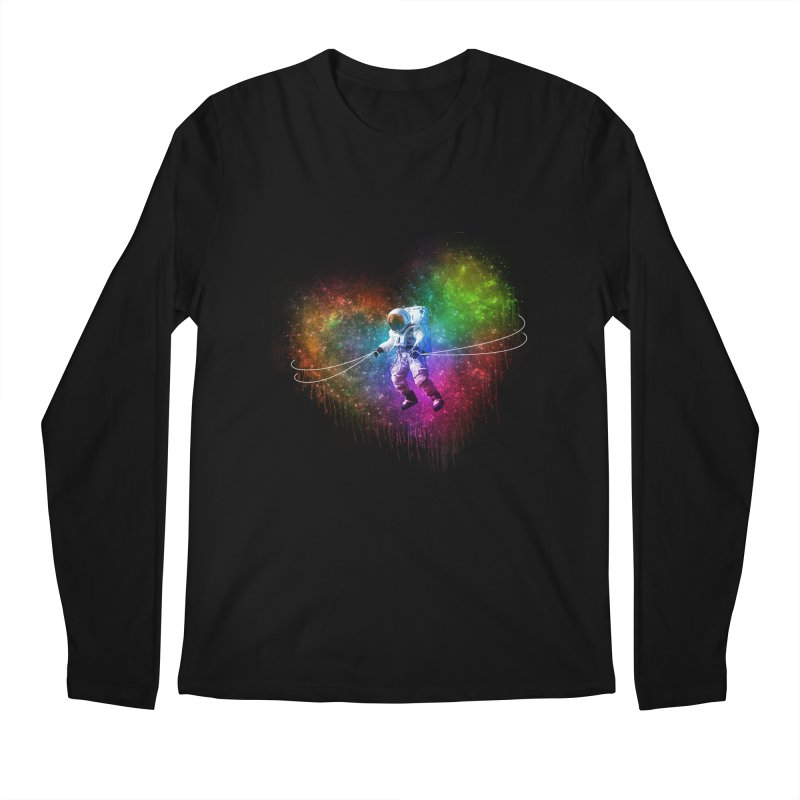 Cosmic Wrangler Men's Regular Longsleeve T-Shirt by Angela Tarantula
