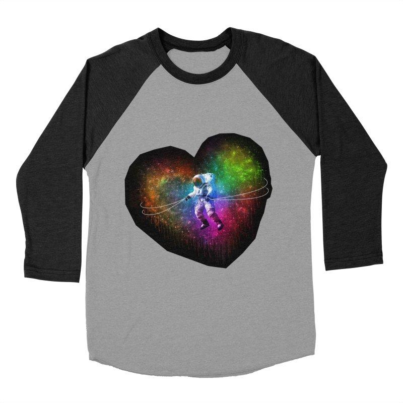 Cosmic Wrangler Women's Baseball Triblend Longsleeve T-Shirt by Angela Tarantula