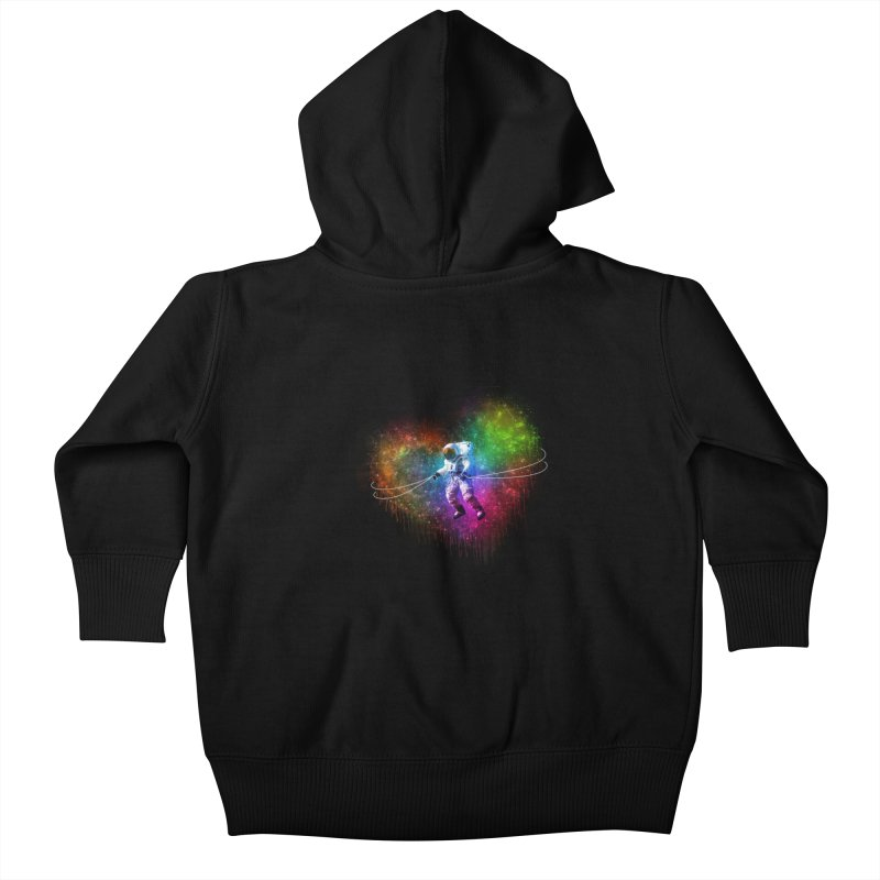 Cosmic Wrangler Kids Baby Zip-Up Hoody by Angela Tarantula