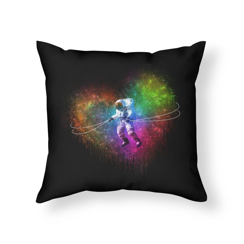 Cosmic Wrangler Home Throw Pillow by Angela Tarantula