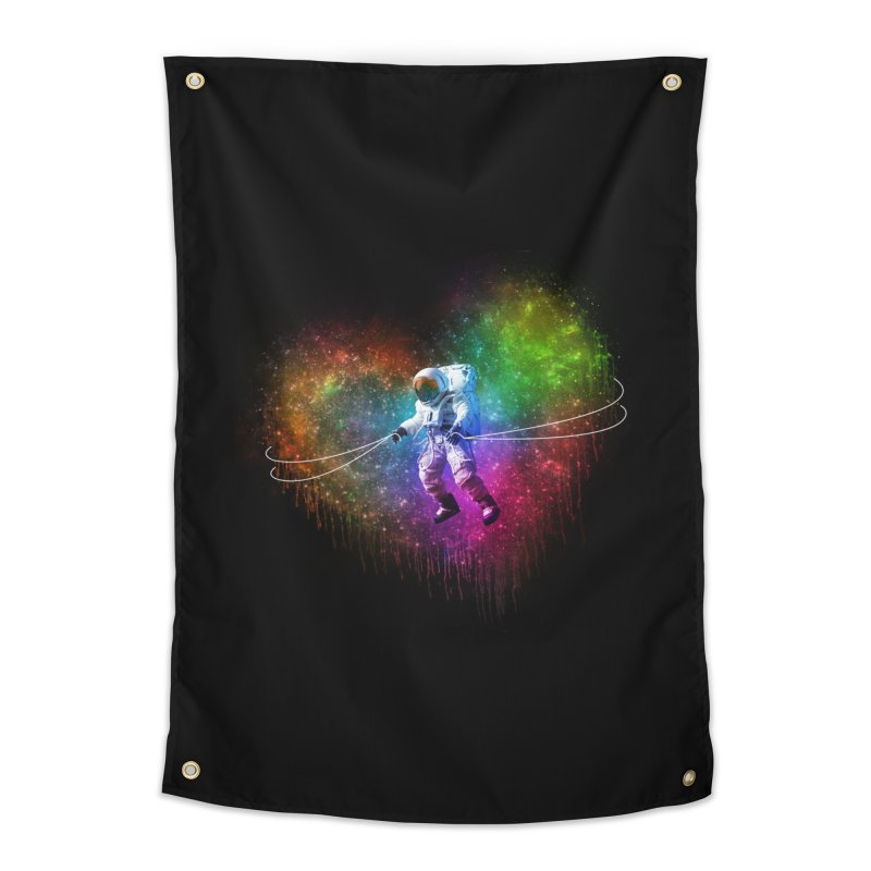 Cosmic Wrangler Home Tapestry by Angela Tarantula