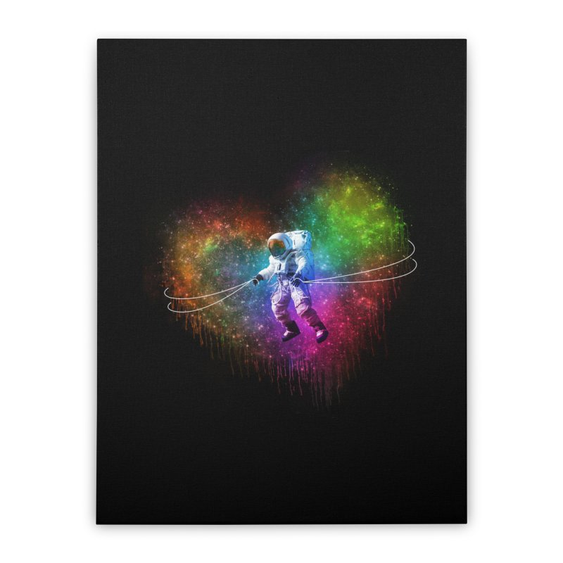 Cosmic Wrangler Home Stretched Canvas by Angela Tarantula