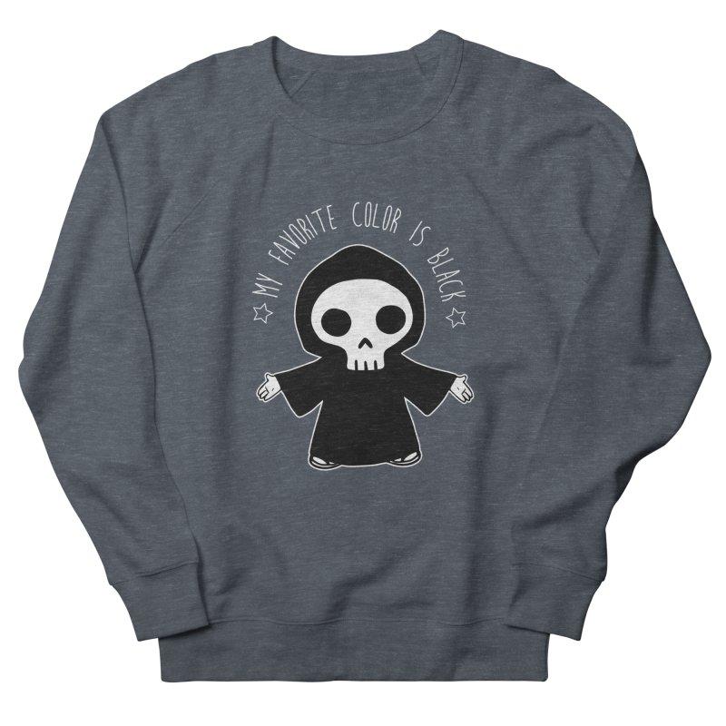 My Favorite Color is Black Women's Sweatshirt by Angela Tarantula
