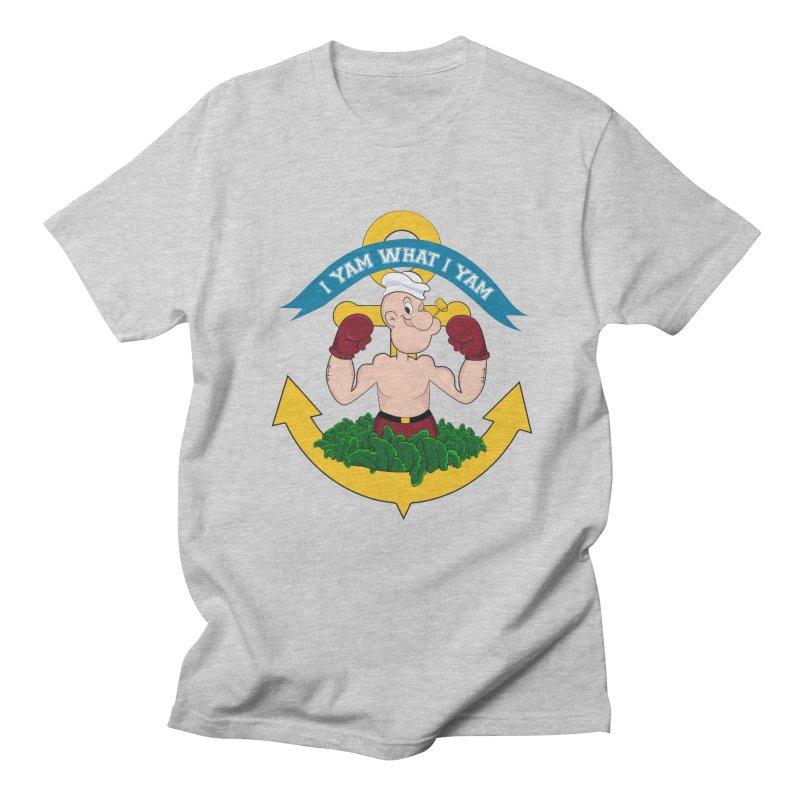 I Yam What I Yam  Women's Regular Unisex T-Shirt by Angela Tarantula