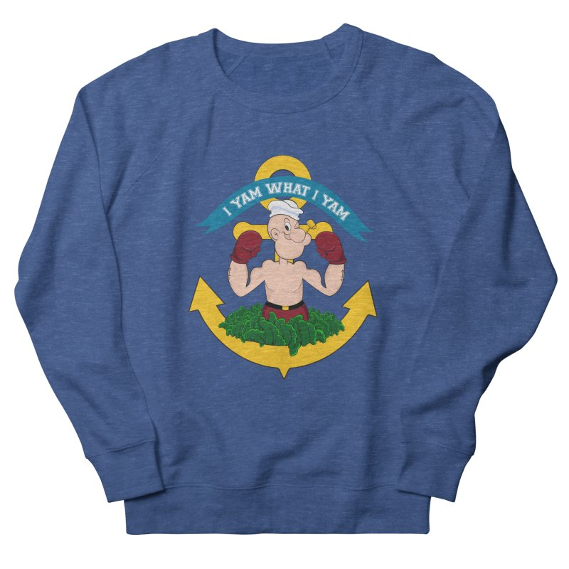 I Yam What I Yam  Women's French Terry Sweatshirt by Angela Tarantula