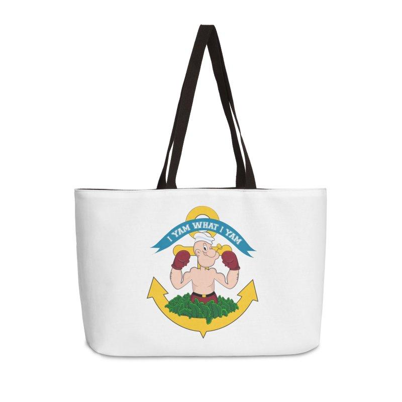 I Yam What I Yam  Accessories Weekender Bag Bag by Angela Tarantula