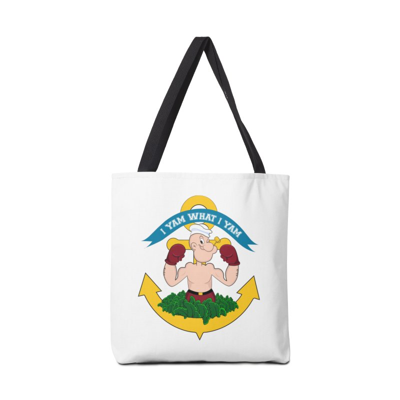 I Yam What I Yam  Accessories Tote Bag Bag by Angela Tarantula