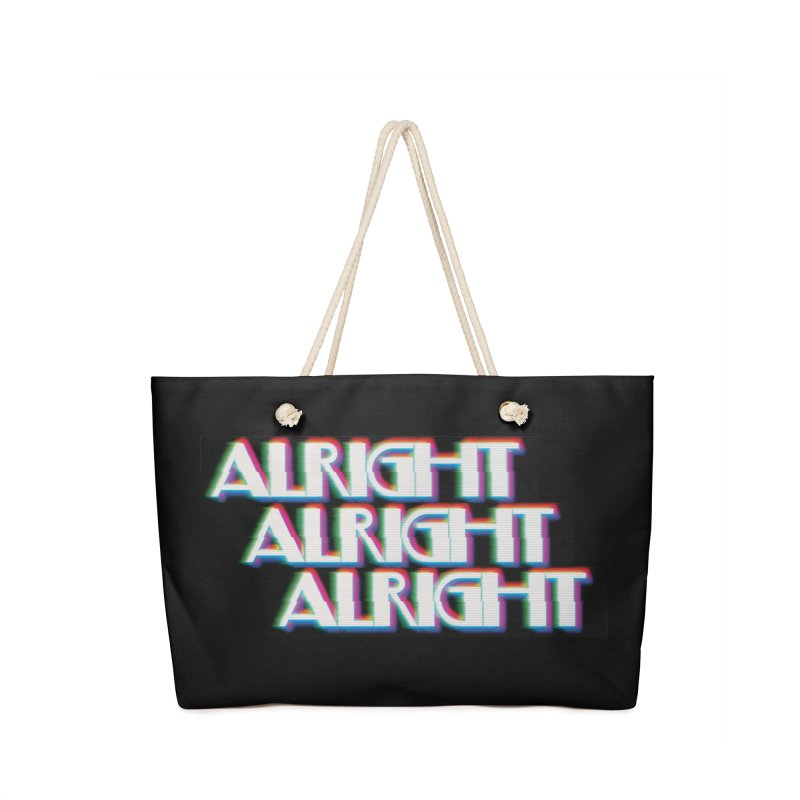 Alright Alright Alright Accessories Bag by Angela Tarantula
