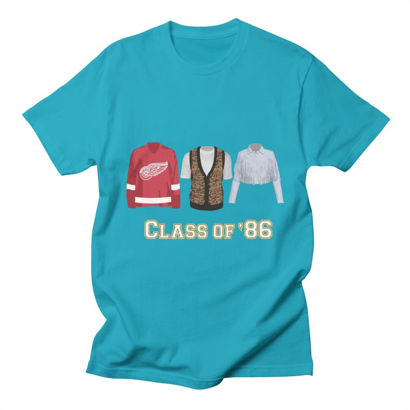 Class of '86 Men's T-Shirt by Angela Tarantula
