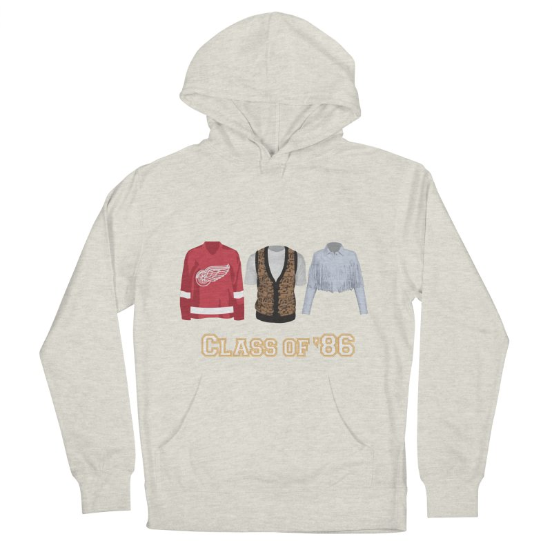 Class of '86 Women's French Terry Pullover Hoody by Angela Tarantula