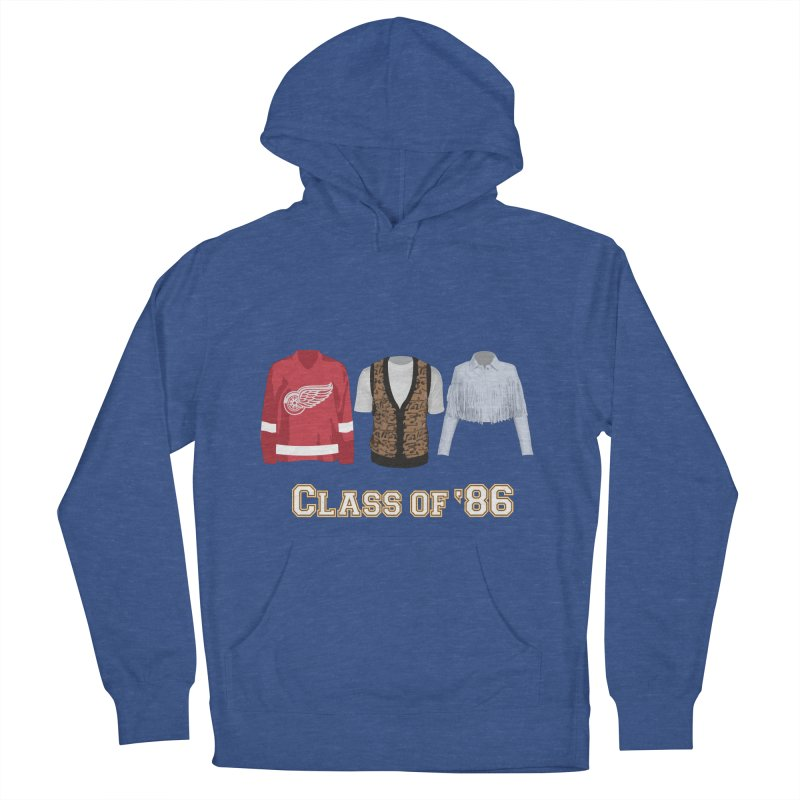 Class of '86 Men's French Terry Pullover Hoody by Angela Tarantula