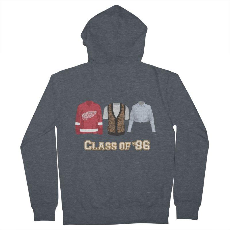 Class of '86 Women's Zip-Up Hoody by Angela Tarantula