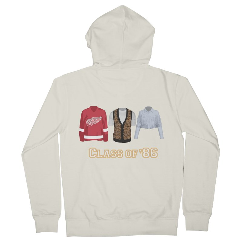 Class of '86 Women's Zip-Up Hoody by Angela Tarantula