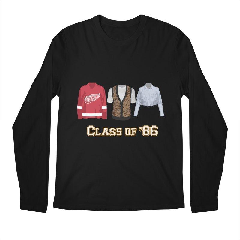 Class of '86 Men's Regular Longsleeve T-Shirt by Angela Tarantula