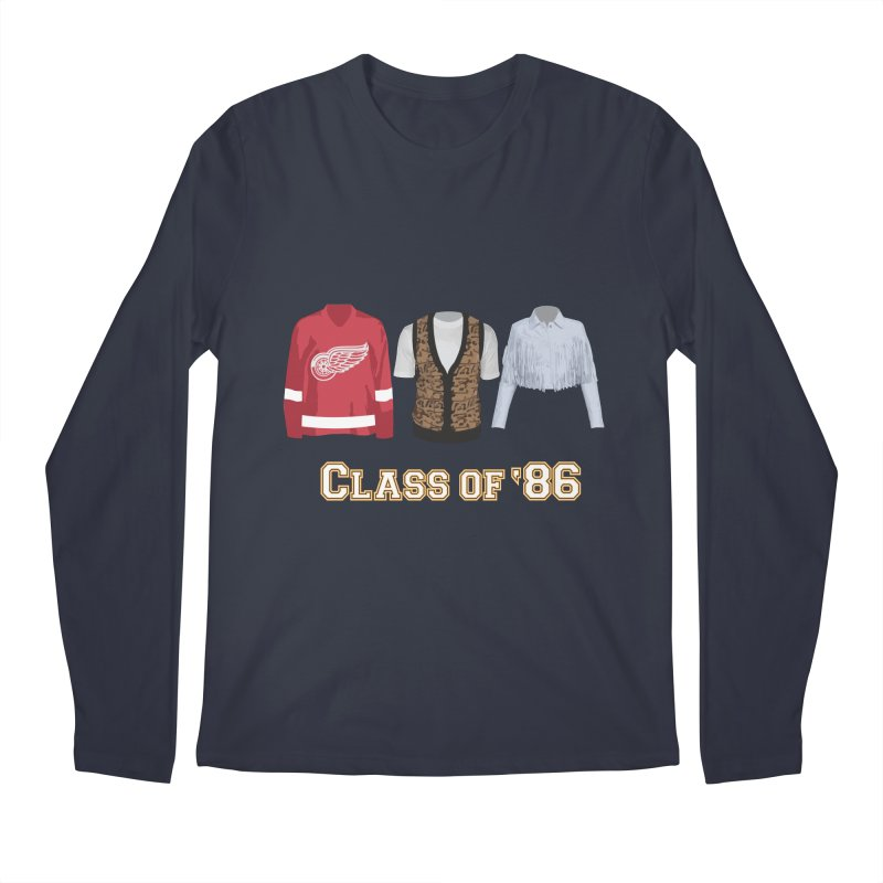 Class of '86 Men's Regular Longsleeve T-Shirt by Angela Tarantula