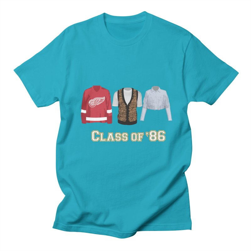 Class of '86 Men's Regular T-Shirt by Angela Tarantula