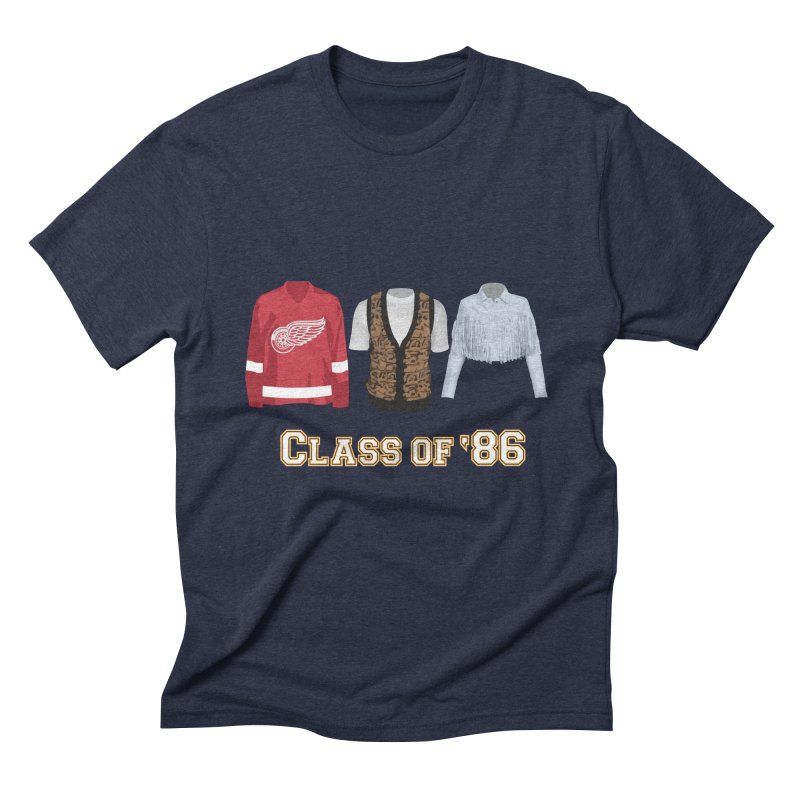 Class of '86 Men's Triblend T-Shirt by Angela Tarantula
