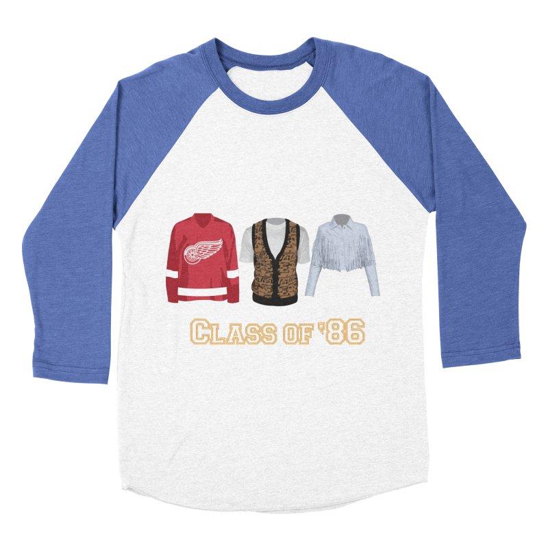 Class of '86 Women's Baseball Triblend Longsleeve T-Shirt by Angela Tarantula