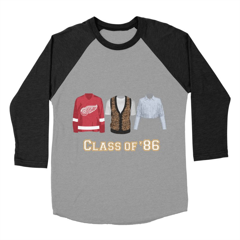 Class of '86 Women's Baseball Triblend Longsleeve T-Shirt by Angela Tarantula