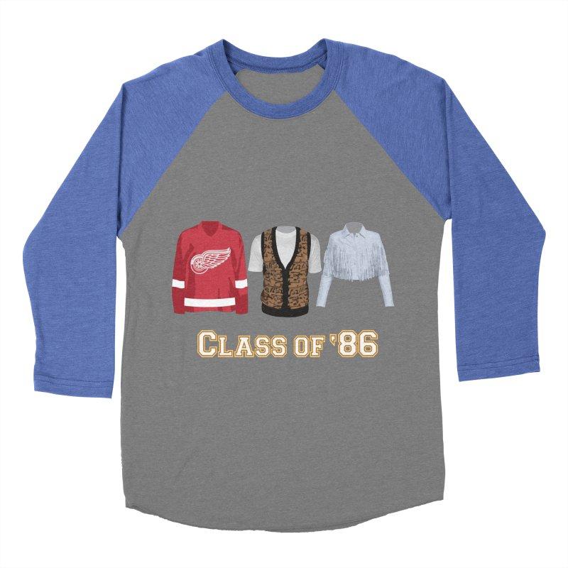 Class of '86 Men's Baseball Triblend T-Shirt by Angela Tarantula