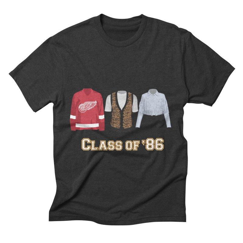 Class of '86 Men's Triblend T-shirt by Angela Tarantula