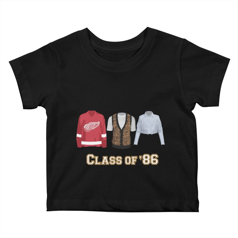 Class of '86 Kids Baby T-Shirt by Angela Tarantula